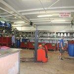 L'atelier de transformation d'huile