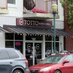 front of Totto Sushi & Grill