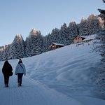 Belle randonnée hivernale