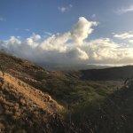 Spectacular views from Diamond Head!