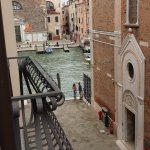 View of the Grand Canal from our room