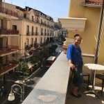 I had a fabulous time in Sorrento.   I stayed in the hotel right in the center of town.  The foo