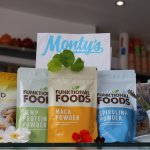 Monty's Smoothies are made with fresh fruit and with a range of powder shots