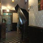 L'escalier montant aux chambres