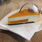 Cheesecake med mango og havtorn