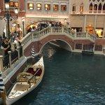 Gondola rides inside the hotel