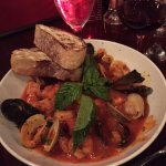 frutti del mar special with salmon and grouper
