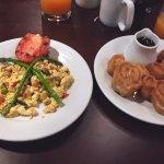 Vegan Breakfast- tofu scramble