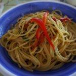 Spaghetti aglio, olio e peperoncino - Molto bene! :-)