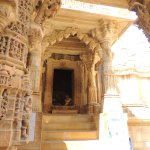 Entrance of one of the Jain Temple