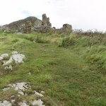 Walk up to Criccieth Castle