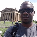 Selfie at The Parthenon
