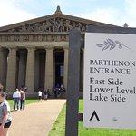 Parthenon Entrance