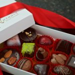 elegant box of artisan chocolates handmade in vallarta.  decadent. divine. simply sublime.