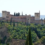 Vista de la Alhambra desde el mirador