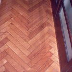 authentic parquet flooring