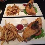 Crispy Fish sandwich - skip the bun!
