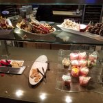 The buffet. The food looks good but there is no flavor.