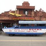 front view with duck & duck tour info
