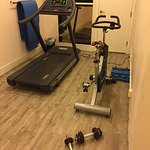 The fitness centre is quite minimal.