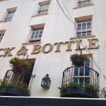 The Cock & Bottle, a good place to eat and drink with friends.