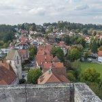 Ausblick von der Burgruine Zavelstein