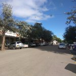 Beautiful downtown Bulawayo in front of the hotel - clean, quiet and friendly.