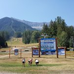 Fernie Alpine Resort in summer