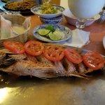 Fresh fried fish