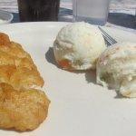 Fish and potato salad