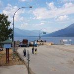 Kootenay Lake Ferry dock