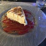 Dessert du jour ,sablé spéculos et mousse chocolat blanc UNE TUERIE
