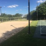 volley ball court and other game