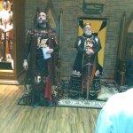 The knighting ceremony