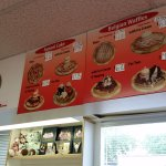 funnel cake belgian waffle price menu