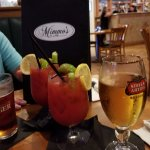 As with all of my reviews .. they always start out with our traditional Bloody Mary and a beer!