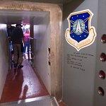 blast door leading to missile control room