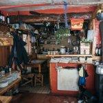 La cocina del refugio