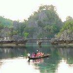 Laguna dekat Pulau Nenek di Pulau Khayangan Sombori
