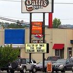 sign for Mr. Gatti's Pizza
