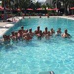 Everyone enjoyed the pool!