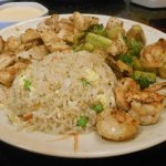 Chicken and Shrimp Hibachi Combo