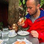 Kanelbulle och kaffe