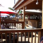more open-air dinning and the outdoor bar area