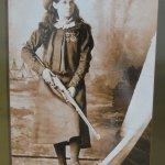 Historic photo of Annie Oakley
