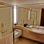 Bathroom of standard double room on 22nd floor