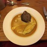 Superb food, lovely 5 * restaurant