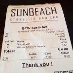 Photo de Brasserie Sunbeach