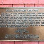 Samoa Cookhouse 1893