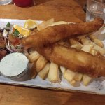 The Black Market Fish and Chips at Smugglers